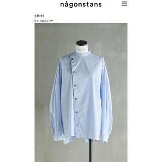 ENFOLD - ナゴンスタンス nagonstans ストライプシャツ ブラウス