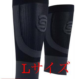 スキンズ(SKINS)の新品未使用 スキンズ シームレスカーフタイツ Lサイズ(トレーニング用品)