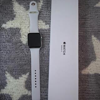 Apple Watch - Apple Watch series3☆GPS 42ミリ