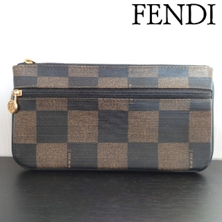 フェンディ(FENDI)のFENDI フェンディ ペカン柄 ポーチ コインケース カードケース fendi(ポーチ)