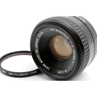 リコー(RICOH)のRICOH XR RIKENON 50mm F2 L 和製ズミクロン 富岡光学製(レンズ(単焦点))
