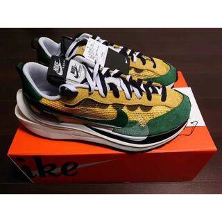sacai x Nike Vaporwaffle Yellow & Green(スニーカー)