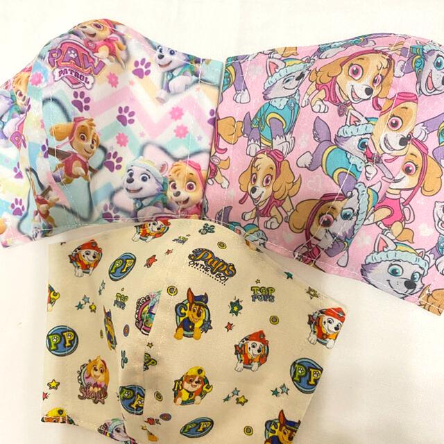 インナーマスク パウパトロール 幼児 ハンドメイドのキッズ/ベビー(外出用品)の商品写真