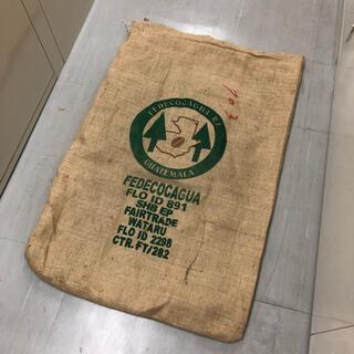 コーヒー農園の麻袋 ①