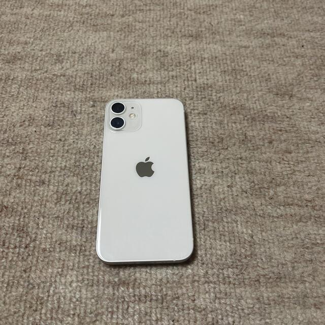 iPhone(アイフォーン)の早い者勝ち❗️iPhone12mini 128GB White スマホ/家電/カメラのスマートフォン/携帯電話(スマートフォン本体)の商品写真