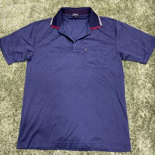 ダンロップ(DUNLOP)のダンロップ DUNLOP XAMXA 半袖ポロシャツ メンズM ネイビー ゴルフ(ポロシャツ)