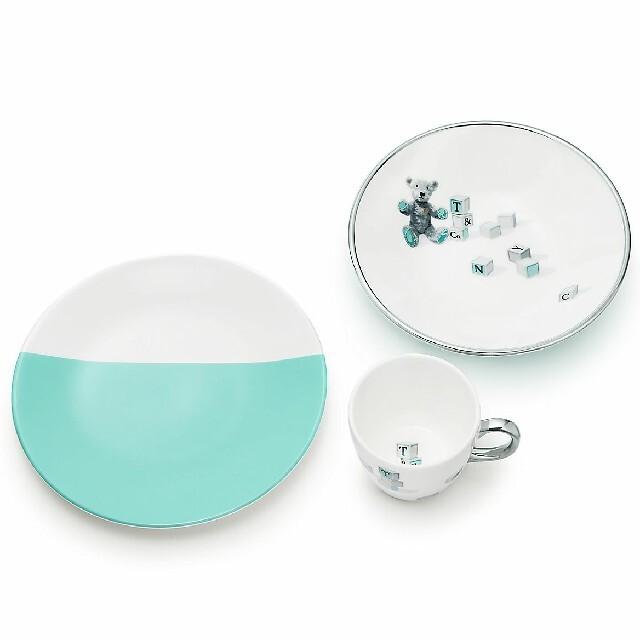 Tiffany & Co.(ティファニー)のティファニー ベア&ブロック 3ピースセット インテリア/住まい/日用品のキッチン/食器(食器)の商品写真