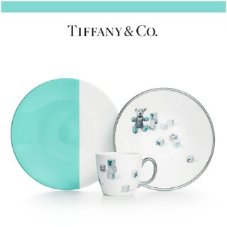 Tiffany & Co. - ティファニー ベア&ブロック 3ピースセット
