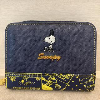 スヌーピー(SNOOPY)の【新品】スヌーピー 二つ折り財布(財布)