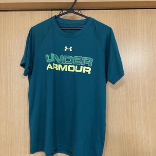 UNDER ARMOUR - アンダーアーマー UNDERARMOUR 半袖 Tシャツ グリーン 深緑 MD