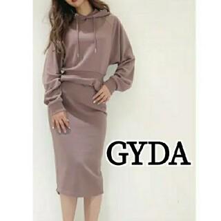GYDA - GYDA スウェットロングワンピース