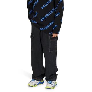 バレンシアガ(Balenciaga)のオーバーサイズ ジャパニーズ バギー デニム 30インチ 20aw(デニム/ジーンズ)