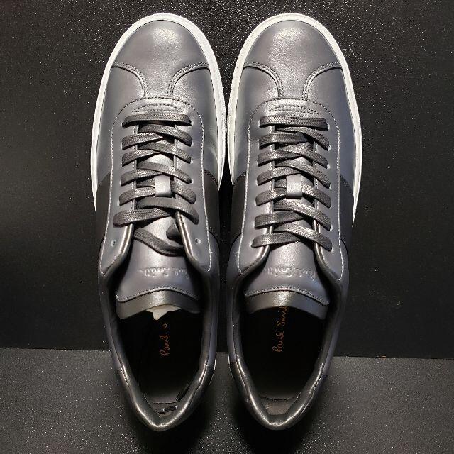 Paul Smith(ポールスミス)のポールスミス(Paul smith) レザースニーカー Levon グレーUK9 メンズの靴/シューズ(スニーカー)の商品写真