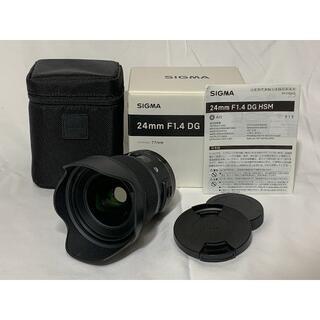 SIGMA - SIGMA 24mm F1.4 DG HSM | Art キヤノン EFマウント