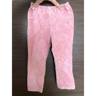 ニットプランナー(KP)のパンツ ピンク コーデュロイ 起毛 可愛い 90(パンツ/スパッツ)