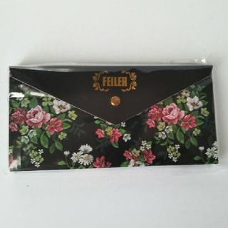 FEILER - フェイラー♡ノべルティオリジナル アントワネット柄 付箋セット ブラック