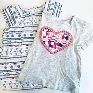 ムジルシリョウヒン(MUJI (無印良品))のTシャツとブラウスのセット 90(Tシャツ/カットソー)