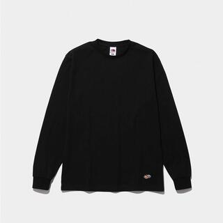 フラグメント(FRAGMENT)のCONVENI フラグメント フルーツオブザルーム ロンT ブラック M(Tシャツ/カットソー(七分/長袖))