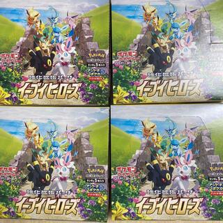 ポケモン(ポケモン)のイーブイヒーローズ 4box シュリンク無し(Box/デッキ/パック)