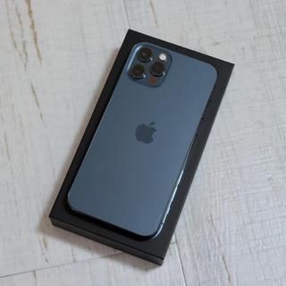 アップル(Apple)のiPhone 12 Pro 128GB パシフィックブルー Simフリー(スマートフォン本体)