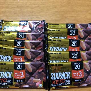 ユーハミカクトウ(UHA味覚糖)のUHA味覚糖 プロテインバー SIXPACK  KETO  diet (プロテイン)