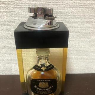 実動品★G&Gミニチュアボトル入り卓上ライター
