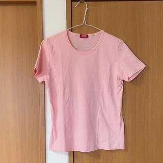 AEON - トップバリュー 半袖 Tシャツ ピンク トップス