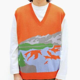 ジョンローレンスサリバン(JOHN LAWRENCE SULLIVAN)のTTT_MSW ヨセミテニット 20ss vest(ニット/セーター)