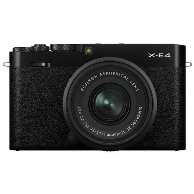 富士フイルム(フジフイルム)のやっち様専用 FUJIFILM X-E4 ボディ ブラック スマホ/家電/カメラのカメラ(ミラーレス一眼)の商品写真