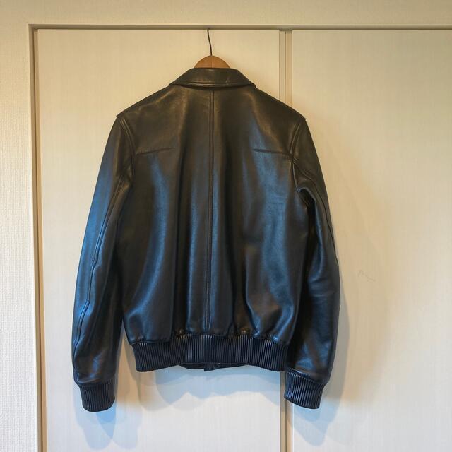 DIOR HOMME(ディオールオム)の本日値下げ DIOR  メンズ ディオールオム レザー ブルゾン メンズのジャケット/アウター(レザージャケット)の商品写真