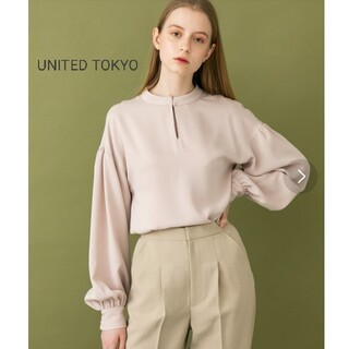 STUDIOUS - UNITED TOKYO スキッパーブラウス