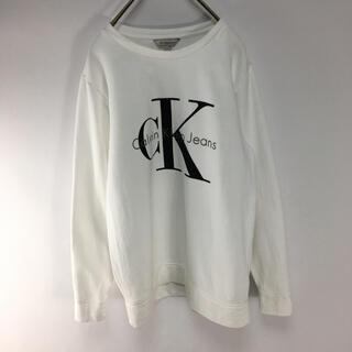 Calvin Klein - CALVIN KLEIN カルバンクライン  スウェット 古着 トレーナーメンズ