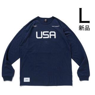 ダブルタップス(W)taps)のWtaps NEW BALANCE ACADEMY LS T-SHIRT (Tシャツ/カットソー(七分/長袖))