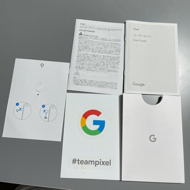 Google Pixel(グーグルピクセル)のpixel 3a cleary white ホワイト SIMフリー スマホ/家電/カメラのスマートフォン/携帯電話(スマートフォン本体)の商品写真
