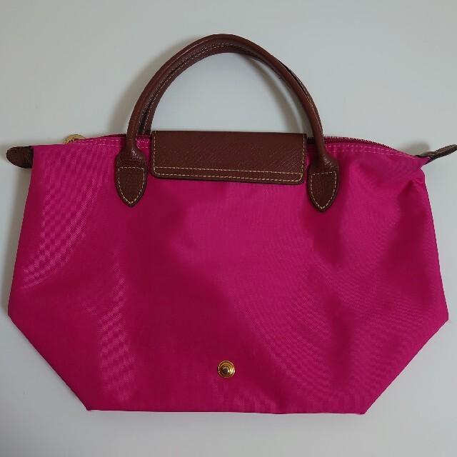 LONGCHAMP(ロンシャン)のロンシャンLONGCHAMPプリアージュ  トートバッグ  Sサイズ ピンク レディースのバッグ(トートバッグ)の商品写真