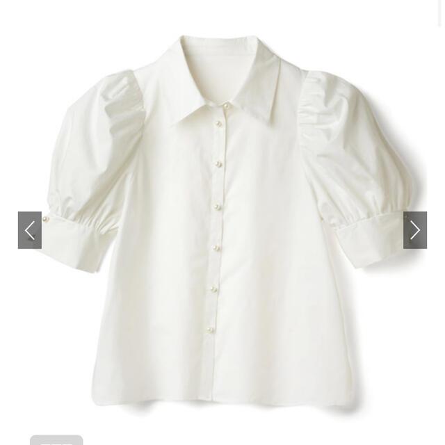 GRL(グレイル)のパールボタンブラウス GRL レディースのトップス(シャツ/ブラウス(半袖/袖なし))の商品写真