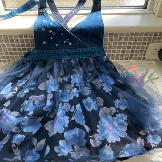 ANNA SUI mini - アナスイミニ ジャンパースカート 130