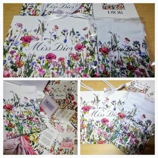 Dior - MissDior 【非売品★限定】刺繍巾着+限定紙袋+香水サンプル【新品】