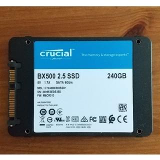 Crucial BX500 2.5 SSD 240GB