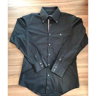バーバリー ブラックレーベル BDシャツ ブラック