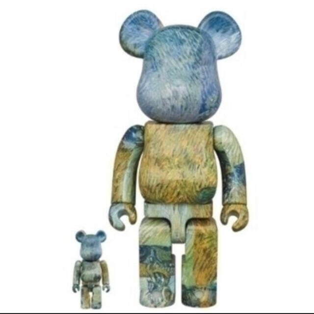 MEDICOM TOY(メディコムトイ)のBE@RBRICK Van Gogh ゴッホ展 新品未開封 エンタメ/ホビーのフィギュア(その他)の商品写真