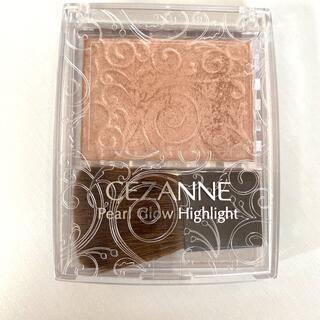 CEZANNE(セザンヌ化粧品) - セザンヌ パールグロウハイライト 02 ロゼベージュ(2.4g)