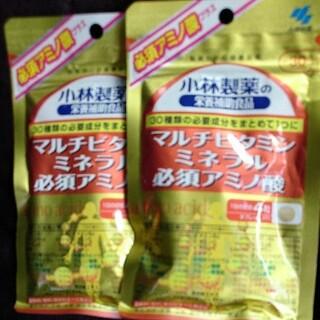 小林製薬 - 小林製薬/マルチビタミン ミネラル 必須アミノ酸120粒 約30日分×2袋