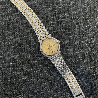 Gucci - GUCCI 9000L デイト コンビカラー クォーツ レディース 腕時計