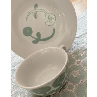 mina perhonen - ミナペルホネン モーニングカップ&ディーププレート