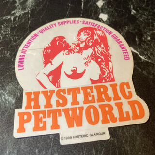 HYSTERIC GLAMOUR - Hysteric Glamour Sticker ⬜︎ #hg105