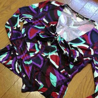 ジャンニヴェルサーチ(Gianni Versace)の3 A 美品 ヴェルサーチ カットソー(Tシャツ(長袖/七分))