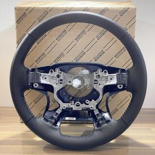 トヨタ(トヨタ)のトヨタ ランドクルーザープラド150後期 本革ステアリング(車種別パーツ)