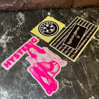 ヒステリックグラマー(HYSTERIC GLAMOUR)のHysteric Glamour Sticker set ⬜︎ #hgs106(その他)