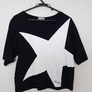 コンバース(CONVERSE)のconverse tokyo  黒 Tシャツ(Tシャツ(半袖/袖なし))